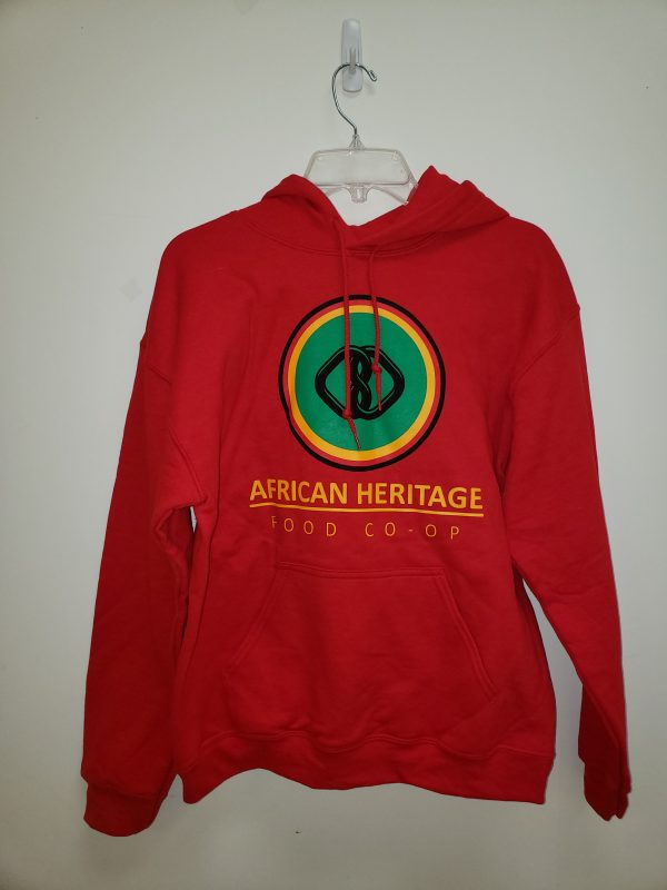 Red Sweatshirt front